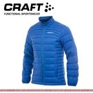 【CRAFT 瑞典 男 輕量羽絨外套《瑞典藍》】1902294/防水/防風/保暖外套/登山外套