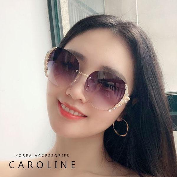 《Caroline》年度最新網紅款潮流行百搭抗UV時尚太陽眼鏡 72504