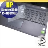 【Ezstick】HP Spectre X360 15-df0013dx 奈米銀抗菌TPU 鍵盤保護膜 鍵盤膜