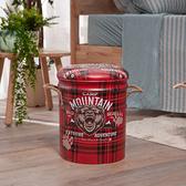 QQ鐵桶收納椅-叢林探險-生活工場