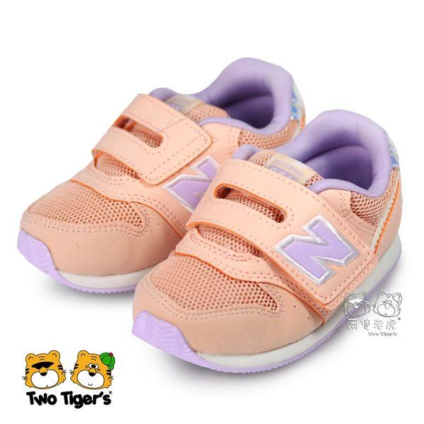 e2ce74b6bb7b6 New Balance 996 美人魚系列炫彩粉橘色魔鬼氈運動鞋小童鞋