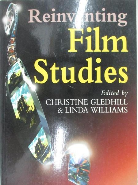 【書寶二手書T6/原文小說_KFB】Reinventing Film Studies_Gledhill, Christine (EDT)/ Williams, Linda (EDT)