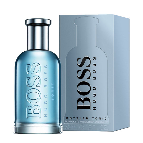 BOSS HUGO Bottled Tonic 勁藍自信男性淡香水50ml【UR8D】