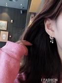 星辰星星月亮耳環短款耳墜氣質韓國個性百搭耳飾少女心耳釘E569-ifashion