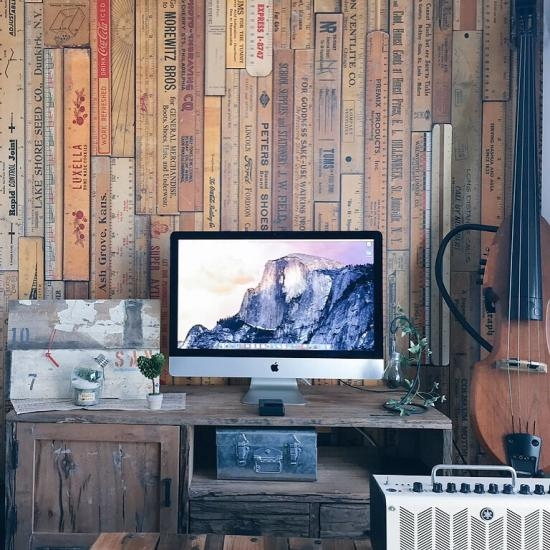 工業風 房間牆面 小飾品施工案例