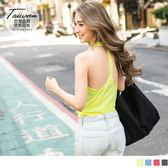 OrangeBear《KS0272》台灣品質.世界同布~T字美背花紗外罩背心.4色--適 S~3L