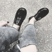 小皮鞋女夏韓版休閒鞋復古女鞋牛津平底一腳蹬樂福鞋原宿單鞋 奇思妙想屋