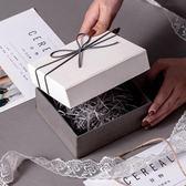 口紅禮品盒長方形高檔禮物盒子大號精美伴手禮禮盒包裝盒定做gogo購