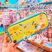 正版 日本 迪士尼筆袋 唐老鴨 黛西 姪子三兄弟 筆袋 收納包 化妝包 COCOS DK600