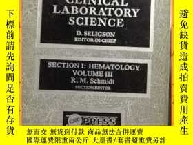 二手書博民逛書店英文書罕見handbook series in clinical laboratory science 臨床檢驗科