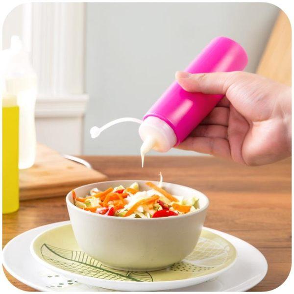 [超豐國際]塑料調味瓶色拉瓶醬油壺擠醬瓶 廚房用品裝油瓶擠壓瓶醋