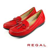 【REGAL】時尚典雅蝴蝶結女鞋 紅色(W836-RE)