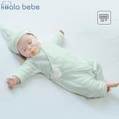 考拉鼻鼻新生兒衣服夏季薄款連身衣初生嬰兒天使翅膀純棉哈衣爬服 幸福第一站