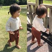618好康鉅惠嬰童裝寶寶夏裝1-3歲女童小翻領襯衫