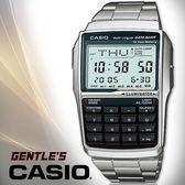 CASIO 手錶專賣店 DBC-32D-1A DATA BANK系列 計算機型手錶