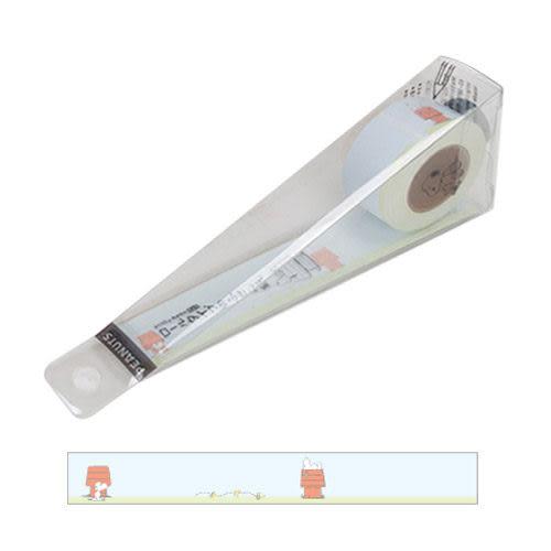 ★funbox生活用品★《sun-star》SNOOPY捲軸式自黏便條紙膠帶(悠閒狗屋) OP42842