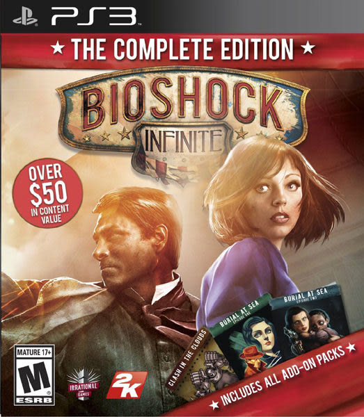 PS3 Bioshock Infinite: The Complete Edition 生化奇兵:無限之城 完整版(美版代購)