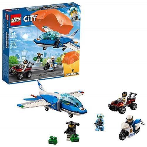 LEGO 樂高  60208 Sky Police Parachute Arrest