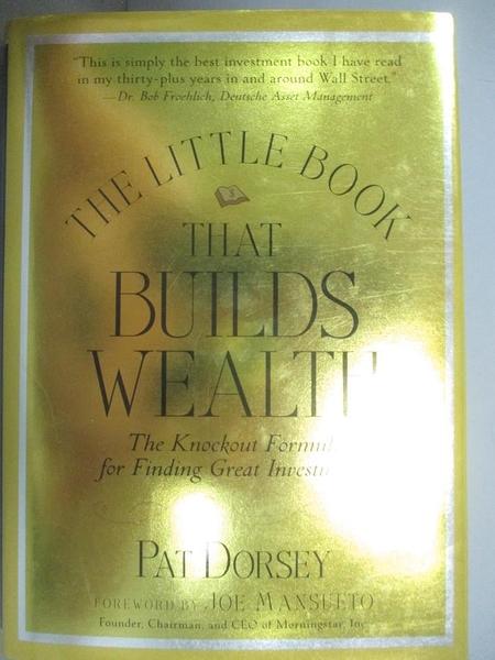 【書寶二手書T1/行銷_GBP】The Little Book That...-The Knock-Out Formula..._Dorsey