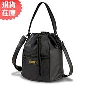 【現貨】PUMA PRIME CLASSICS 手提包 斜背包 水桶包 休閒 黑【運動世界】07794101