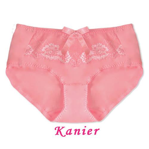 【Kanier卡妮兒】雙色花卉蕾絲內衣配褲(柑/豆沙紫 L.XL_2331配褲)