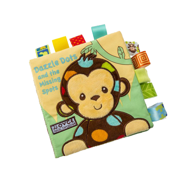 布書 嬰兒玩具床邊故事書撕不破教具-JoyBaby