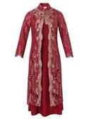 禮服 媽媽裝秋裝兩件套連衣裙高貴丈母娘嫁女兒喜婆婆結婚禮服洋氣 莎拉嘿呦