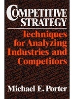 二手書博民逛書店《Competitive Strategy: Technique