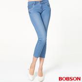 BOBSON 女款鑽飾牛仔八分褲 (207-58)
