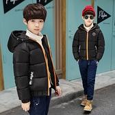 男童秋冬新款外套 個性潮流童裝男童棉衣冬裝新款兒童短款棉服女童棉懊韓版加絨外套