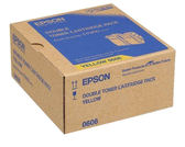 S050606 EPSON 原廠(雙包裝)黃色碳粉匣 (壽命15000張) AL-C9300N