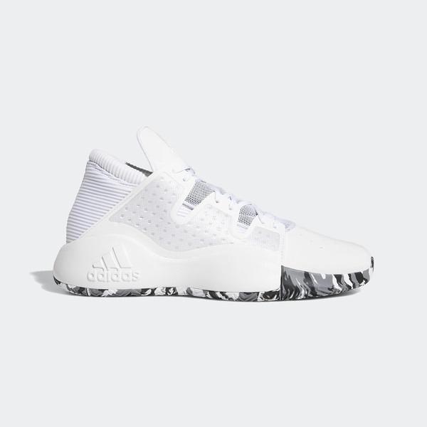 Adidas Pro Vision [EF0485] 男鞋 運動 籃球 慢跑 休閒 緩震 舒適 健身 輕量 愛迪達 白金