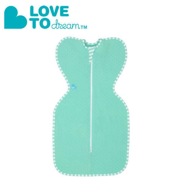 『121婦嬰用品館』Love To Dream 專利碟型包巾-輕薄款-綠(M)