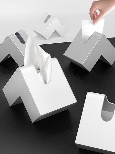 降價兩天 面紙盒 北歐 紙巾盒家用辦公客廳茶幾臥室書房 日式多功能抽紙盒
