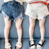 童裝女童牛仔短褲夏裝2019新款寶寶熱褲兒童小童潮短褲子1-2-3歲4