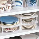 可疊加盤子整理架盤子置物架盤子收納架分層整理盤架抗菌瀝水【AA310】《約翰家庭百貨