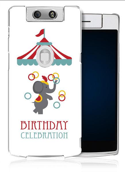 ✿ 3C膜露露 ✿【馬戲團*水晶硬殼】OPPO N3手機殼 手機套 保護套 保護殼