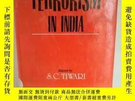 二手書博民逛書店Terrorism罕見in IndiaY17705 Edited