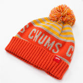 CHUMS 日本 Logo 風格毛帽 橘 CH051052D001