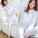 NEW小兔子可愛睡衣+睡褲(超柔雪貂絨)-保暖、居家服_蜜桃洋房