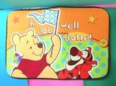 【震撼精品百貨】Winnie the Pooh 小熊維尼~布面地墊~與跳跳虎#38540
