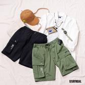 STAYREAL 輕量尼龍口袋短褲