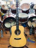 凱傑樂器 Chihiro NS-300SS 全單板 特殊缺角 民謠吉他 高階琴 亮面