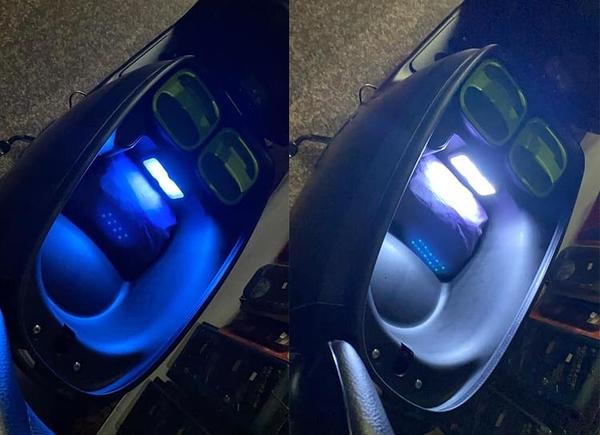 機車行李箱燈 PNS 觸控磁吸式 充電型 LED 室內燈 輔助燈 警示燈 後車箱燈 閱讀燈 GOGORO