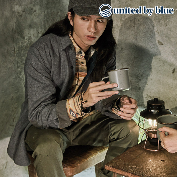 United by Blue 男棉麻長袖襯衫式外套 101-079 Clove Shirt Jacket / 城市綠洲 (再生麻、有機棉、無化學物)