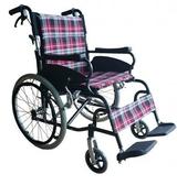 輪椅B款-20吋中輪折背-豪華型輪椅//安舒251  贈 1 好禮