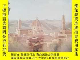 二手書博民逛書店FLORENCE罕見Thecity and its art by