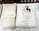 【愛吾兒】童心 Child Mind 小鹿潘比純棉七件組(M)-咖啡米