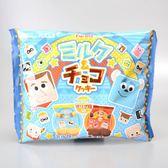 日本【古田】玩具家族餅乾[牛奶&巧克力風味]120g(賞味期限:2019.06)