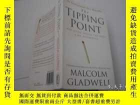 二手書博民逛書店THE罕見TIPPING POINT MALCOLM GLADWELLY205889 MALCOLM GLAD